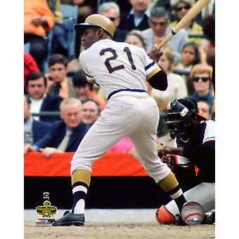Roberto Clemente 1971 World Series Photo Print
