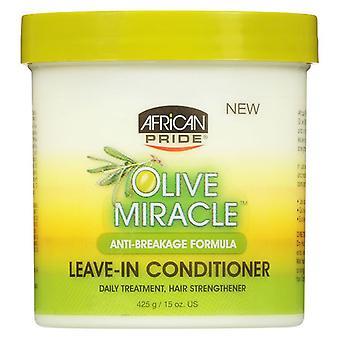 African Pride Olive Miracle Anti-Breakage Formula Leave-In Conditioner 425g
