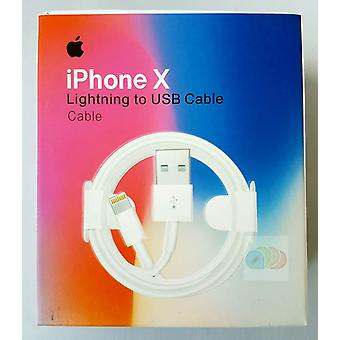Emballage original Apple MD818ZM/A Lightning Charging Cable pour iPhone X XS XR 8
