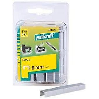 Wolfcraft Narrow loin staples 055 (DIY , Tools , Consumables and Accessories)