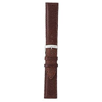 Morellato Strap Only - Ibiza Lizard Calf Brown 20mm A01X3266773032CR20 Watch