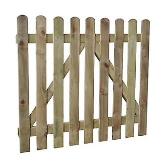 Forest Garden 3ft Heavy Duty Wooden Picket Fence Gate