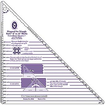 Large Diagonal Set Triangle Ruler-6