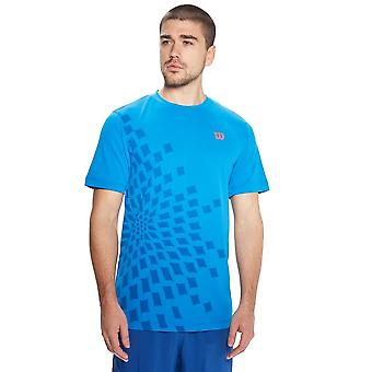 Wilson UWII Linear Men's Crew Tennis Top