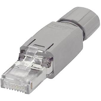 WAGO 750-975 RJ45-Plug Connector IP20 - CAT5e 8P8C RJ45 Plug, straight Grey
