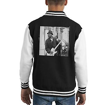 TV Times Muddy Waters Blues And Gospel Train 1964 Kid's Varsity Jacket