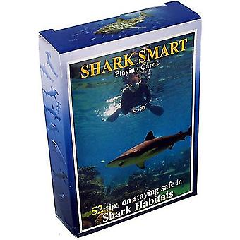 Shark Smart (Staying Safe With Sharks) Set Of 52 Playing Cards + Jokers