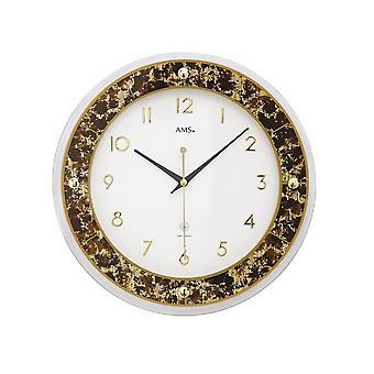 Wall clock radio AMS - 5853