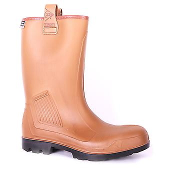 B-Dri Dunlop wodoodporne buty bezpieczeństwa Rigger Boot - C462743