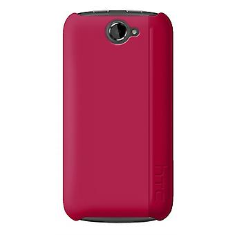 HTC - Hardshell Snap-On Case voor HTC One S - Magenta roze