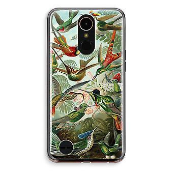 LG K10 (2018) Transparent fodral (Soft) - Haeckel seglarfåglar
