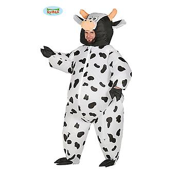 Generique - costume inflatable Cow costume for adult one size