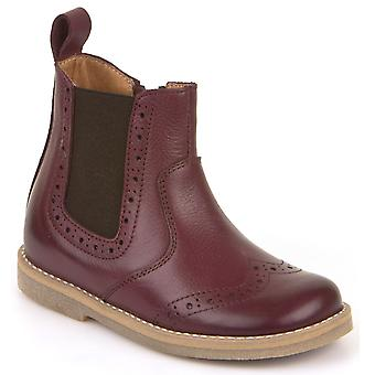 Froddo Girls G3160080-8 Chelsea Boots Bordeaux