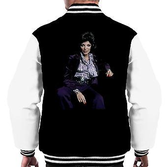 TV Times Joan Collins At Home 1971 Men's Varsity Jacket