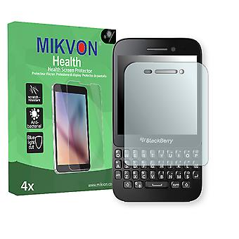 BlackBerry Q5 Screen Protector - Mikvon Health (Retail Package with accessories)