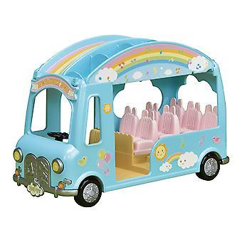 Les familles sylvanian 5317 pépinière Sunshine Bus Play jeu
