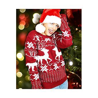 Mężczyźni stroje Christmas sweter oversize dla mężczyzn i kobiet