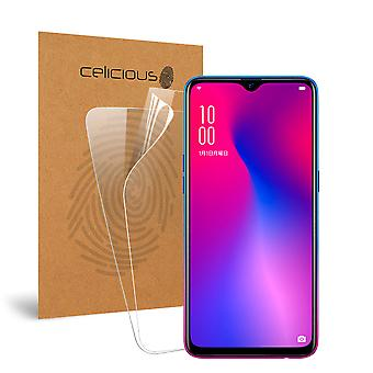 Celicious Vivid Invisible Glossy HD Screen Protector Film Compatible with OPPO R17 Neo [Pack of 2]