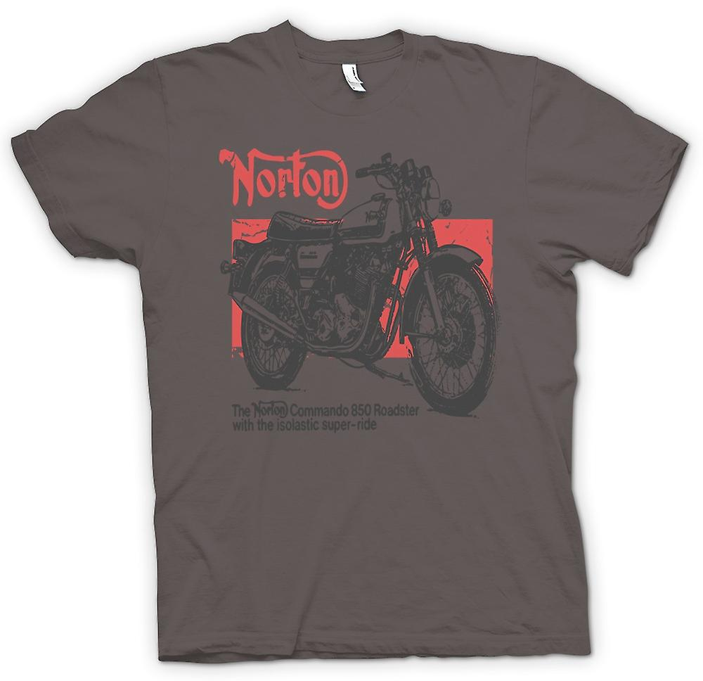 Womens T-shirt - Norton Commando 850 Roadster