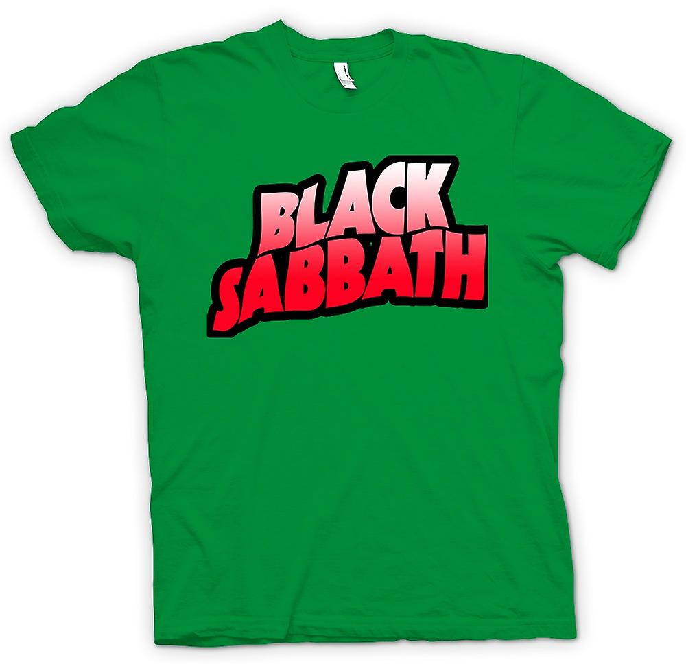 Mens T-shirt - Sabbat - Heavy Metal Logo