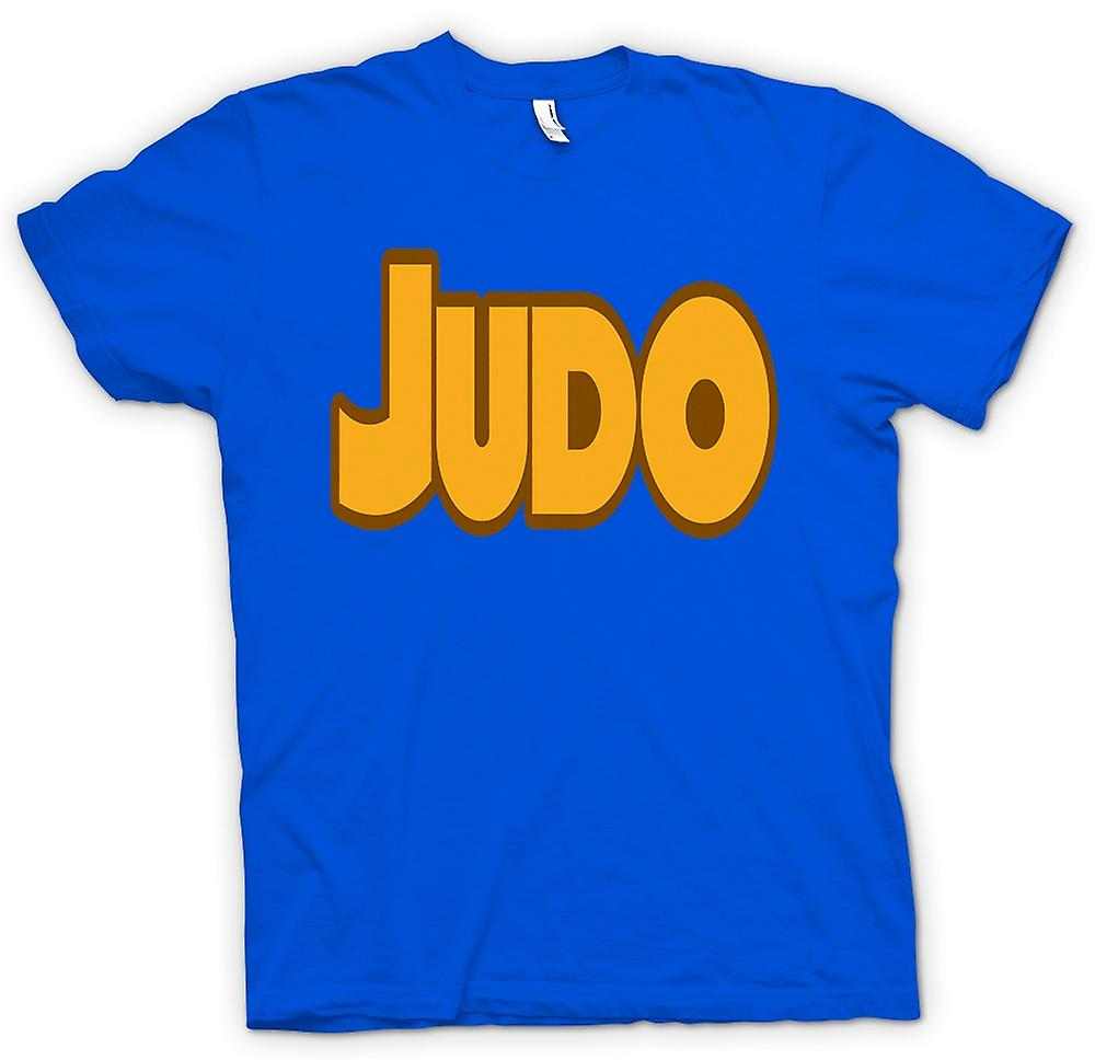 Herr T-shirt-Judo - Martial Art - Slogan