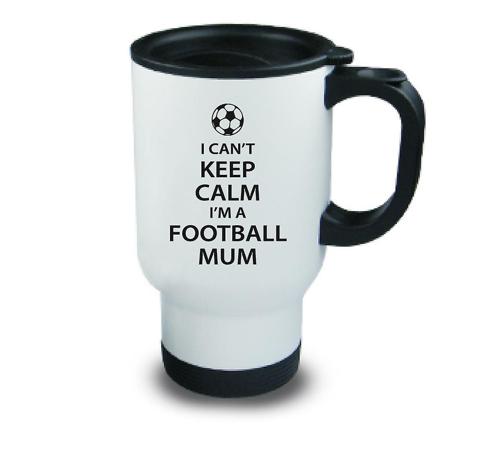 Pas Voyage Son De Ne Suis Football Noir Je Tasse Calme Une Métal Maman Peux Garder 5uTK1JclF3