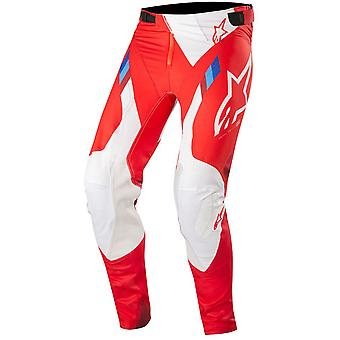 Alpinestars Red-White 2019 Supertech MX Pant