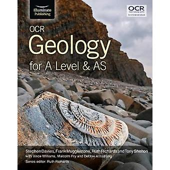 OCR Geology for A Level and AS by Stephen Davies - 9781911208143 Book