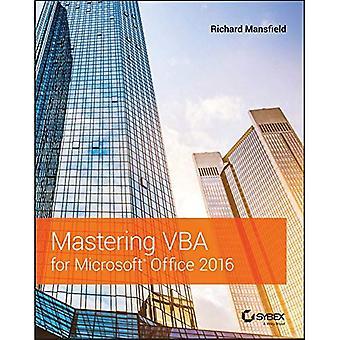 Mastering VBA per Microsoft Office 2016