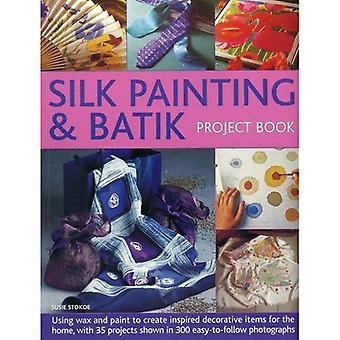 Silkesmålning & Batik projekt bok