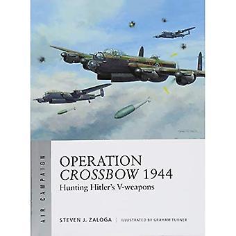 Opération Crossbow 1944: Chasse V-armes de Hitler (campagne aérienne)