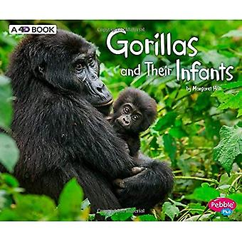Gorillas and Their Infants:� A 4D Book (Animal Offspring)
