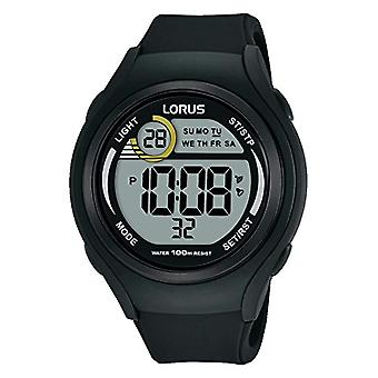 Montre digitale Lorus Quartz montre-bracelet de Silicone unisexe R2373LX9