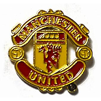 Manchester United FC metal / esmalte pin pin (bb)