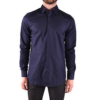 Givenchy Blue Cotton Shirt