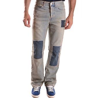 John Richmond Light Blue Cotton Jeans