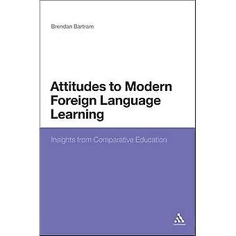 Holdninger til moderne fremmedsprog indsigter fra sammenlignende uddannelse af Bartram & Brendan