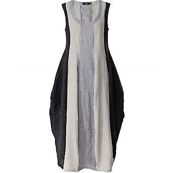 فستان بدون أكمام من الكتان