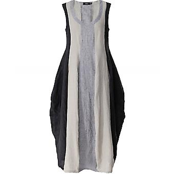 Ralston Linen Panelled Sleeveless Dress