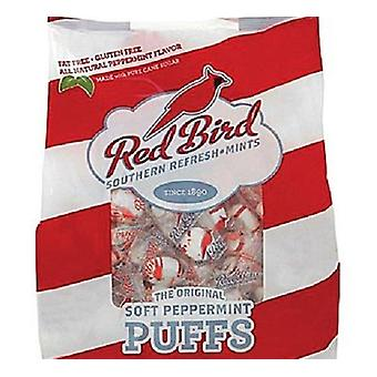 Red Bird Brand Soft Peppermint Puffs Southern Candy Fat Free 2 Bag Pack