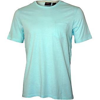 O'Neill Jacks bas Crew-Neck T-Shirt W / ficka, ljusblå