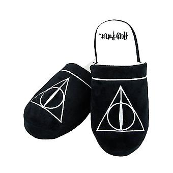 Harry Potter Deathly Hallows Mule Slippers  - ONE SIZE