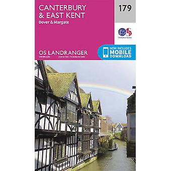Canterbury & East Kent - Dover & Margate (February 2016 ed) by Ordnan