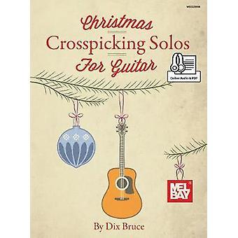 Christmas Crosspicking Solos for Guitar - 9780786699650 Book
