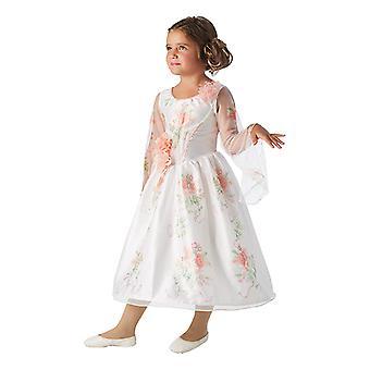 Belle Live Action Movie Celebration beleza e como besta vestido para crianças
