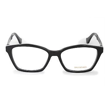 Balenciaga BA 5071 001 54 Square Cat Eye Eyeglasses Frames