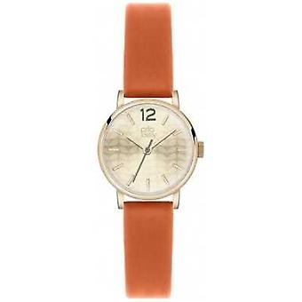 Orla Kiely Frankie Orange Leather Strap OK2016 Watch