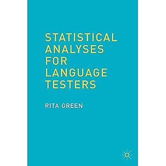 Análisis estadísticos para los probadores de la lengua