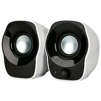 Logitech z120 speaker speakers 1.2 w usb color white black