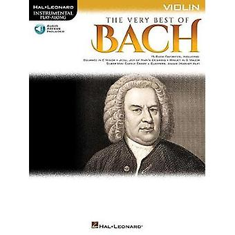 The Very Best of Bach - Instrumental Play-Along For Violin by Johann S